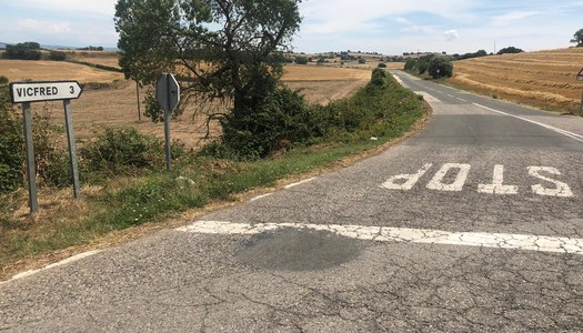 Actuacions a la xarxa de camins de Sant Guim de la Plana