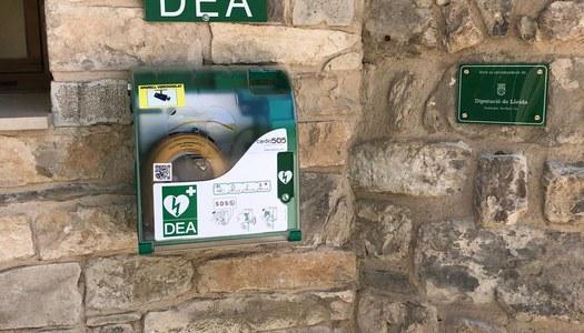 La Diputació instal·la un DEA a Sant Guim de la Plana