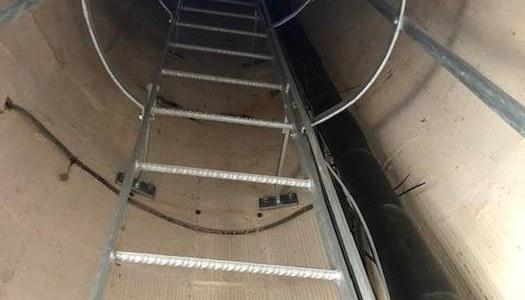 L'Ajuntament rep una subvenció pera col·locar una escala al dipòsit de Vicfred.